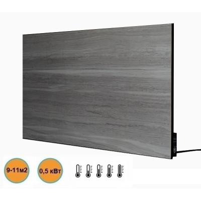 Керамическая панель обогреватель с терморегулятором Stinex Ceramic 500/220-T(2L) Gray-Marble - Серый мрамор